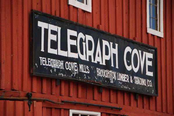 Telegraph Cove - Ausgangspunkt für Walbeobachtungen