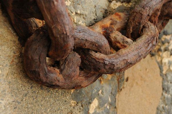 Stahlketten Glieder - Vergänglichkeit