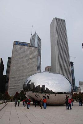 "Chicago - cloud gate oder ""die Bohne"""