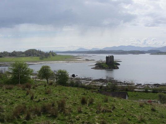 Typisches schottisches Landschaftsbild