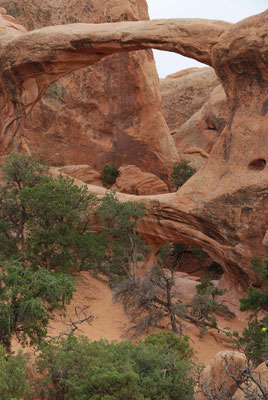 """Arches Nationalpark  - """"Double O-Arch"""""""