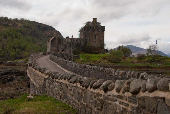 Eilean Donan Castle - Filmkulisse unter anderem für Highlander und James Bond