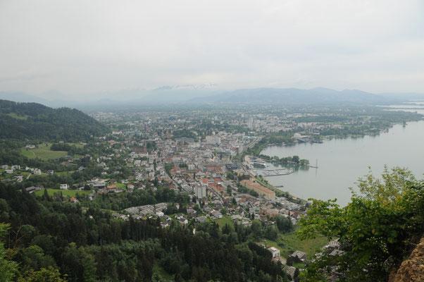 Blick ins Rheintal - Aufstieg Pfänder