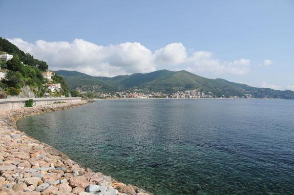Unterwegs an der ligurischen Küste