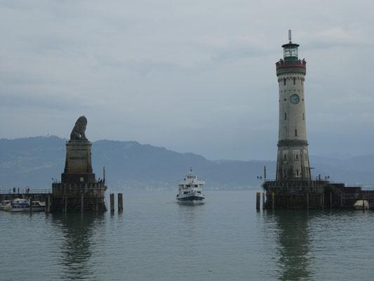 Hafeneinfahrt Insel Lindau