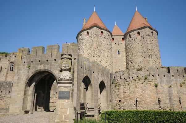 La Cité - der Haupteingang