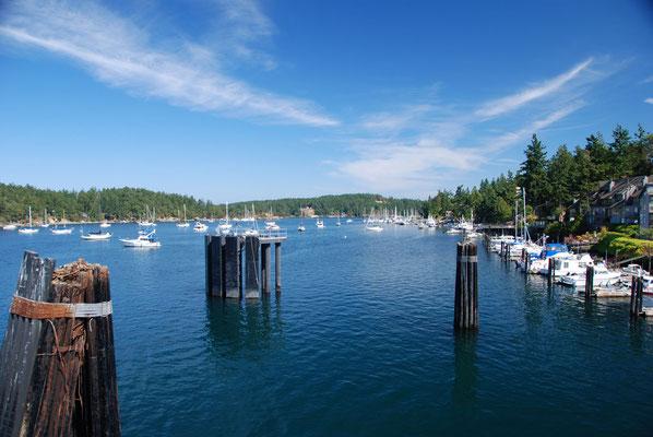 Fähranleger Sidney - Vancouver Island