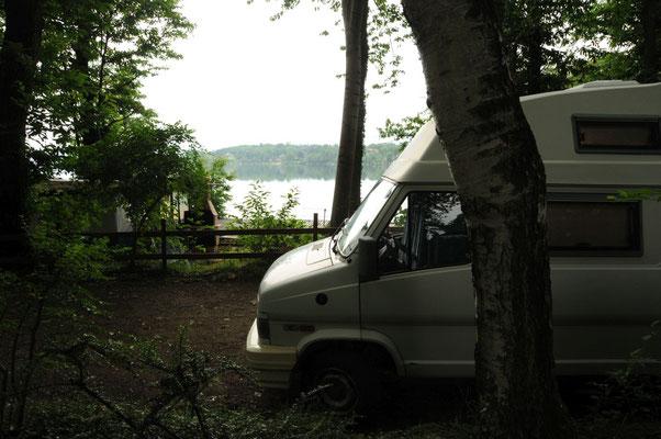 Und gleich nochmal mit Blick auf den See