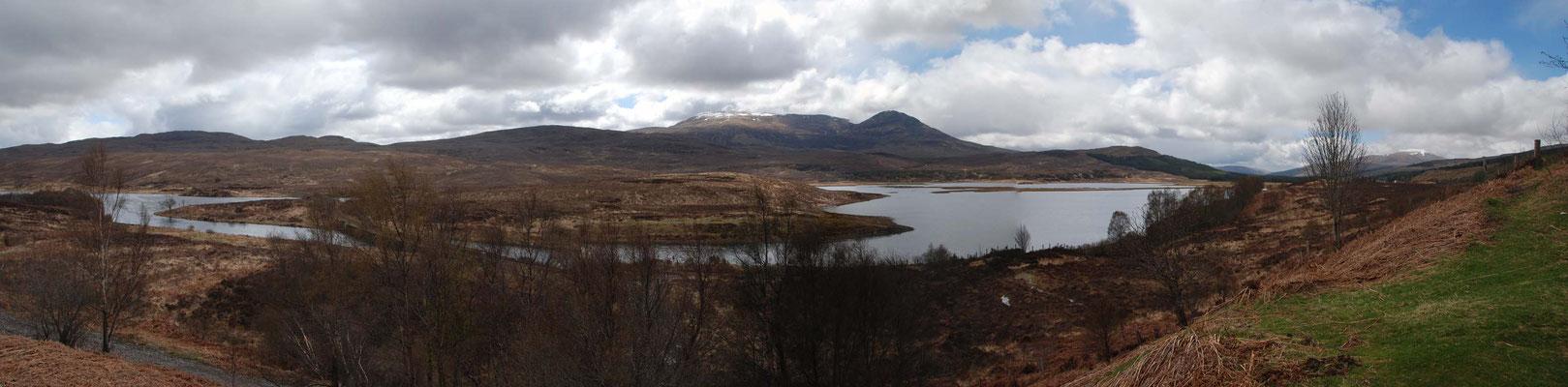 Auf der Fahrt zur Insel Skye