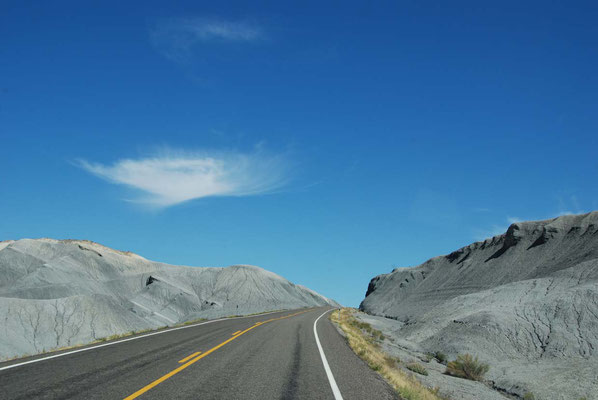 Fahrt in den Goblin Valley State Park