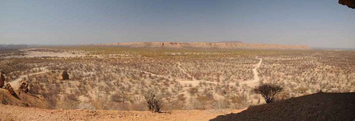 Panorama (aufgenommen auf der Fingerklippe)