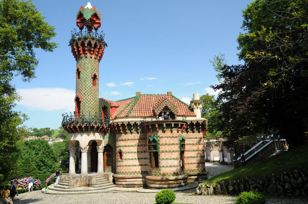 Haus von Gaudí - erinnert ein bißchen an Lego