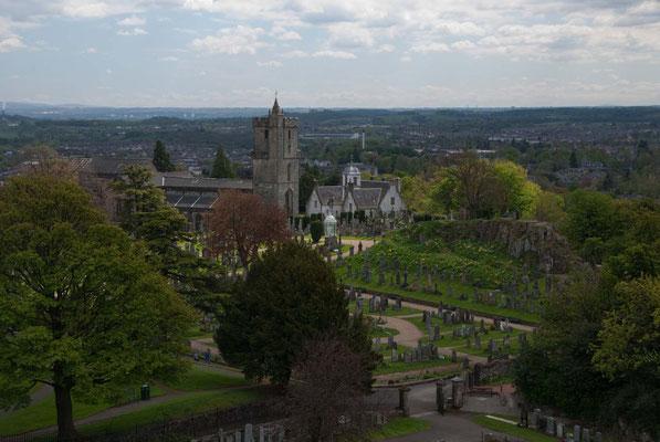 Blick vom Stirling Castle