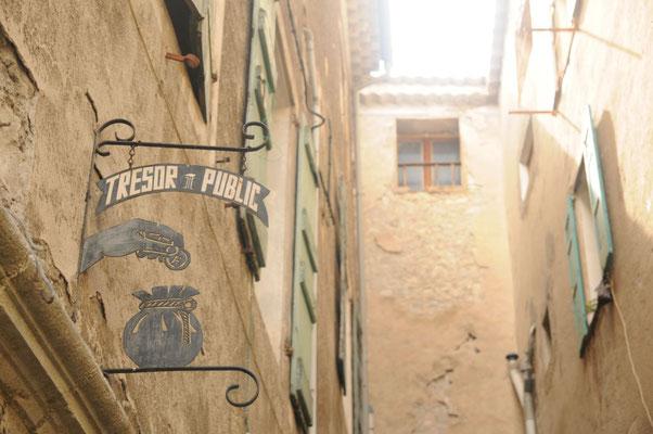 In Entrevaux, der Schatzmeister?