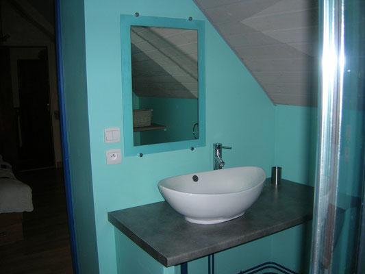 Salle de bain attenante à Bois Dormant