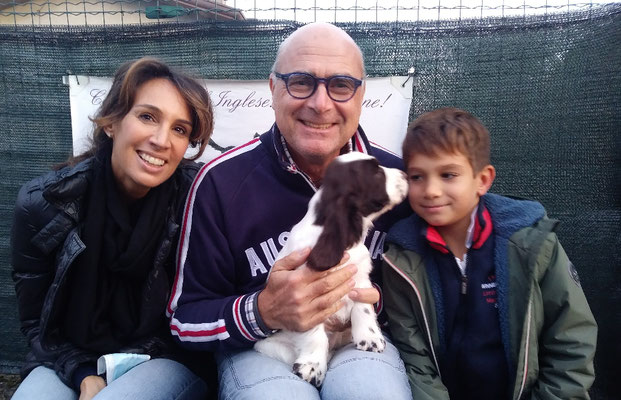 Vidia Dellyllè e la sua nuova famiglia