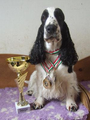 Campionessa Italiana sport acquatici 2015 (classe small)