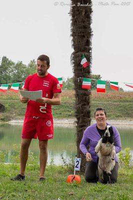 Premiazione nuoto 50 mt 2° class medaglia d'argento classe small Samba Dellyllè