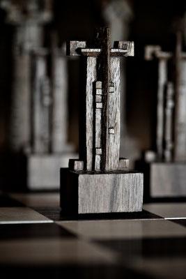 Schachfiguren handgefertigt