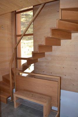 Treppenbau nach Mass Engadin