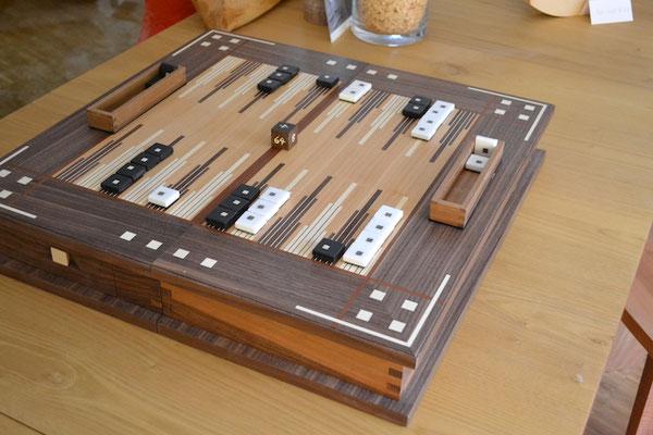 Backgammon Holz handgemacht