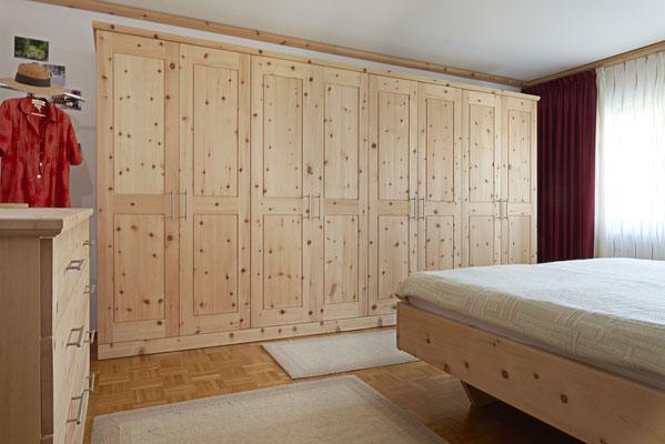 Schlafzimmer Arve