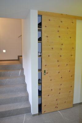 einbauschrank einbaubett nach mass schreinerei david rohrbach zernez. Black Bedroom Furniture Sets. Home Design Ideas