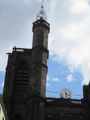 Tour de la Bayette surmontée de la tourelle de la Guette et de la cage des guetteurs