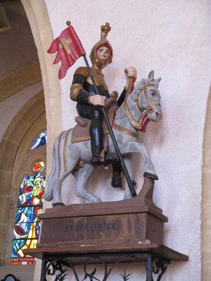 statue équestre de St Maurice
