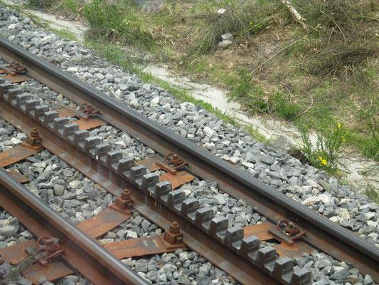 montée train à crémaillère