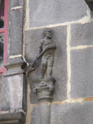 homme sauvage dans la tradition médiévale