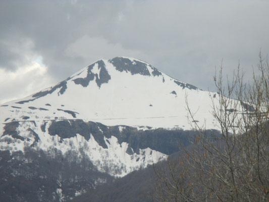 vue sur la face nord du Puy Mary
