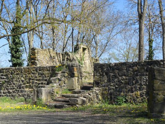 vestiges des remparts