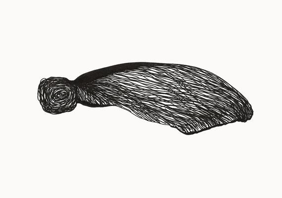 © cesa wendt | o.t., 2017 | 14,8 x 21 cm | tusche / ink | bild-nr. 2017_03_04