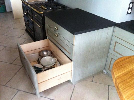 Meuble de cuisine : tiroir haut