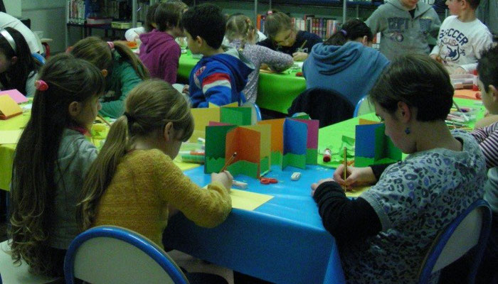 laboratorio pop-up bambini