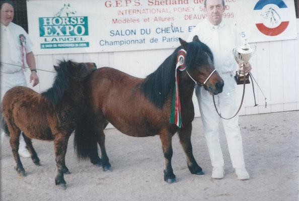 Taire de Grand Cour, suitée de Majoly de la Clairière en 1995