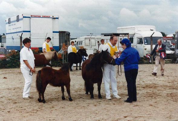 Tiare de Grand Cour Championne de France 1995