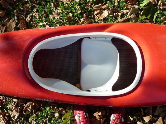 siège de kayak de slalom (HERITAGE CANOE BOIS)
