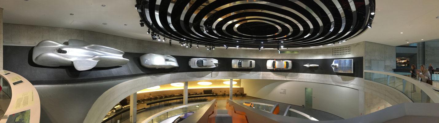 Mercedes Museum Stuttgart 2015 together with tkE.