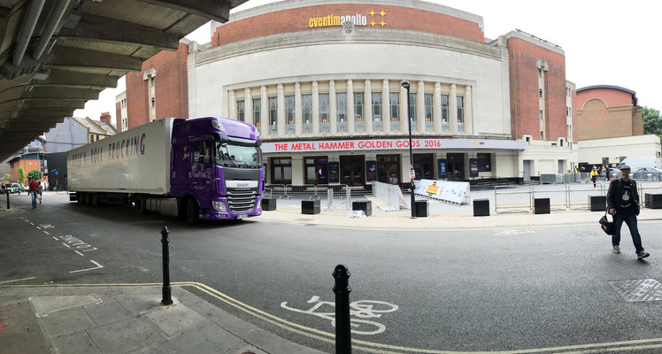 Doing a Production at the Hammersmith Odeon was really a dream come true! EA Global Press Conference with Team Sollik. 2016