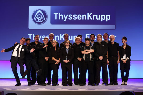 2014_Great Team in Miami for thyssenkrupp Elevator Leadership Conference.