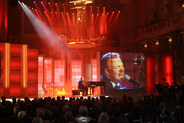 """Goldene Kamera"" Konzerthaus am Gendarmenmarkt, Berlin. Very special venue for a TV Production. But all worked out very well!"