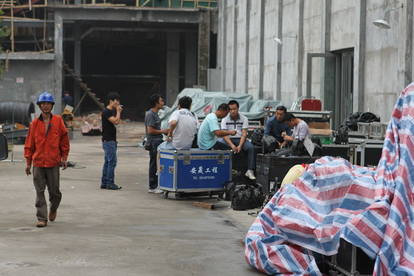 My first ever production in China. Guangzhou 2011.