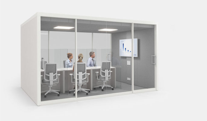 Vetrospace CAF (controlled air flow) workstations