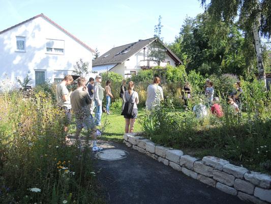 Exkursion zu naturnahen Gärten in Karlsruhe