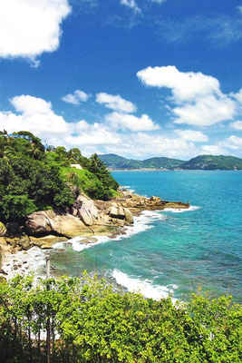 Gorgeous ocean views at the U Zenmaya Phuket Resort | Travel Guide To Phuket: Things To Do in Phuket And Places To Stay | via @Just1WayTicket | Photo © Sabrina Iovino