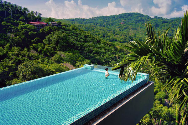 Infinity Pool at the Nok-Dee Boutique Resort Phuket | Travel Guide To Phuket: Things To Do in Phuket And Places To Stay | via @Just1WayTicket | Photo © Sabrina Iovino