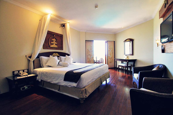Spacious rooms, almost like a suite at the Grand Mirage Resort in Bali | Hotels In Bali Indonesia | via @Just1WayTicket