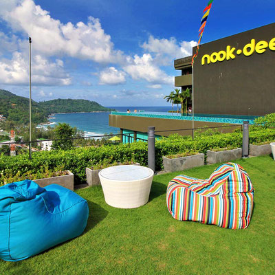 Garden Views at the Nok-Dee Boutique Resort Phuket | Travel Guide To Phuket: Things To Do in Phuket And Places To Stay | via @Just1WayTicket | Photo © Sabrina Iovino